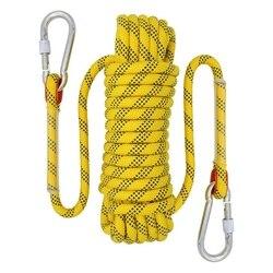 20M zewnętrzna lina wspinaczkowa średnica 12mm zewnętrzne akcesoria turystyczne lina o wysokiej wytrzymałości lina ratunkowa Lifeline akcesoria turystyczne Ye