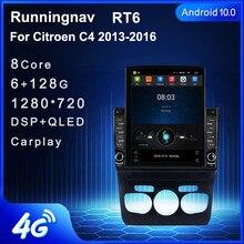 """9.7 """"Android 10,1 Für Citroen C4 2013 2016 Tesla Typ Auto Radio Multimedia Video Player Navigation GPS keine DVD"""