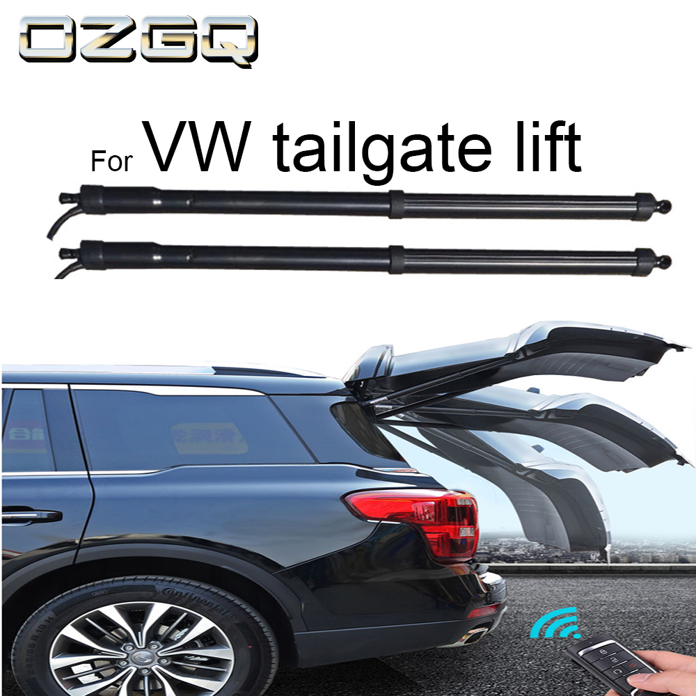 OZGQ Car Truck Anti-pinch Remote Control Auto Electric Tail Gate Lift For Volkswagen Touareg 2011 2012 2013 2014 2015 2016 2017