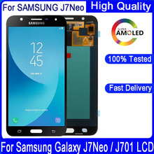 """5.5""""For Samsung Galaxy J7 Neo J701 SM  J701F J701M J701MT  LCD Display+Touch Screen Digitizer Assembly Replacement"""