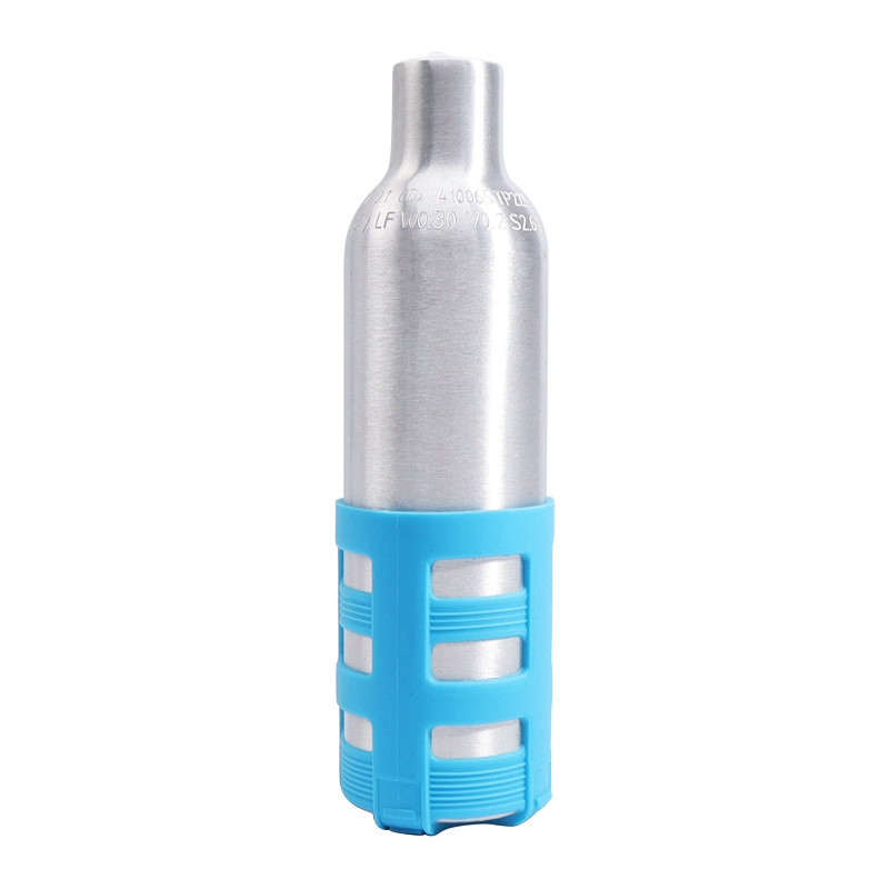 0.2L Black Soda Maker Refillable Soda Bottle Spare Reusable CO2 Cylinder Accessory for Soda Machines