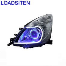 Drl Side Turn Signal Lights Lamp Exterior Styling Neblineros Para Led Auto Assessoires Car Lighting Headlights FOR Nissan Livina(China)