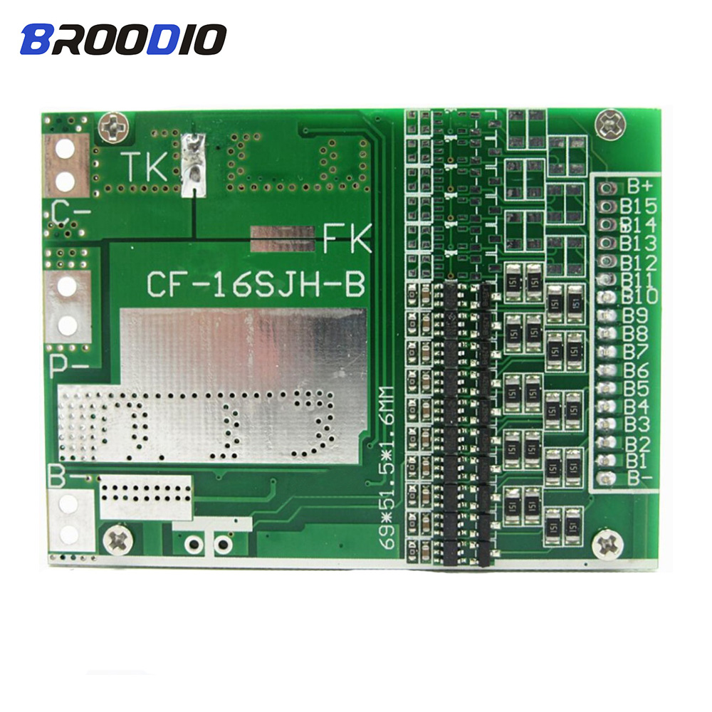 <font><b>BMS</b></font> <font><b>10S</b></font> 36V 20A <font><b>35A</b></font> 18650 lto Lithium Battery Protection Equalizer Board With balancer Balance Function Lipo Li-ion Module image