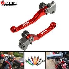 цена на Motorcycle Accessories Dirt Bike Pivot Brake Clutch Levers Hot For HONDA CR80R 1998 1999 2000 2001 2002 2003 2004 2005 2006 2007