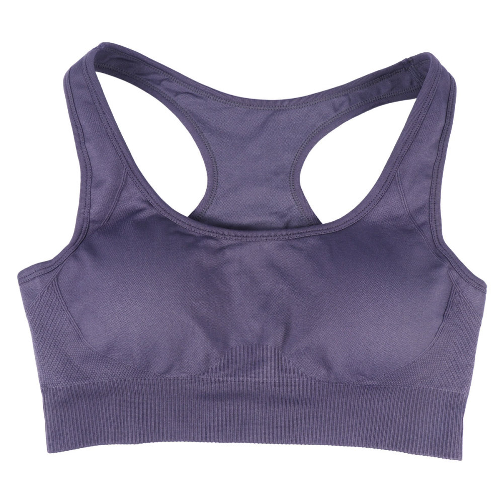 3pcs Breathable Underwear Shockproof Gather Bra Wireless Undergarment Fashion Woman Bra for Yoga Vest Running Sports (Coffee Dar
