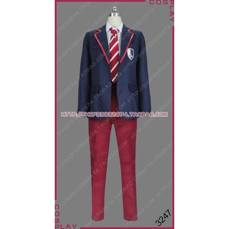 Elite Guzman Nunier Osuna Samuel Garcia Dominguez Valerio Montesinos Ander Munoz Las Encinas School Uniform Cosplay Costume S002