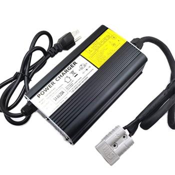 Lifepo4-cargador de batería 4S para patinete eléctrico, 14,6 V, 20A, 12V, 40AH, 60AH, 80AH, 100AH, Lifepo4, con ventilador y funda de aluminio 1