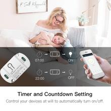 Tuya 10A Smart Timer Wireless Switches Module Wifi Smart Switch Smart Home APP Automation Compatible With Alexa Google Home