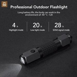 Image 5 - Linterna LED de gran alcance LEAO, martillo de seguridad de coche, luz Flash de buceo impermeable para una mayor seguridad