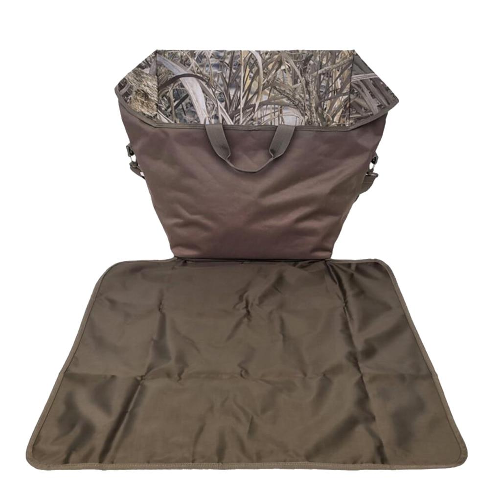 wader armazenamento transportadora caso tote com alca ombro folha terra 03