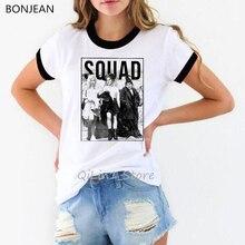 vintage t shirt women plus size harajuku Hocus Pocus femme summer tops korean style clothes white vogue tshirt female