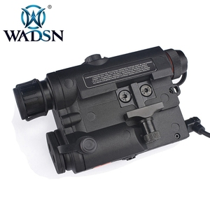 Image 4 - WADSN Airsoft PEQ 15 LA5C Tactical PEQ 15 UHP Green/Red Dot Laser Without IR Flashlight Zero Reset Hunting Weapon Lights WEX453
