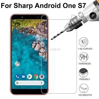 Перейти на Алиэкспресс и купить 10 шт., острое закаленное стекло для Android One S7, защита для экрана Android One S7, Антибликовая пленка для экрана Android One S7 5,5дюйм