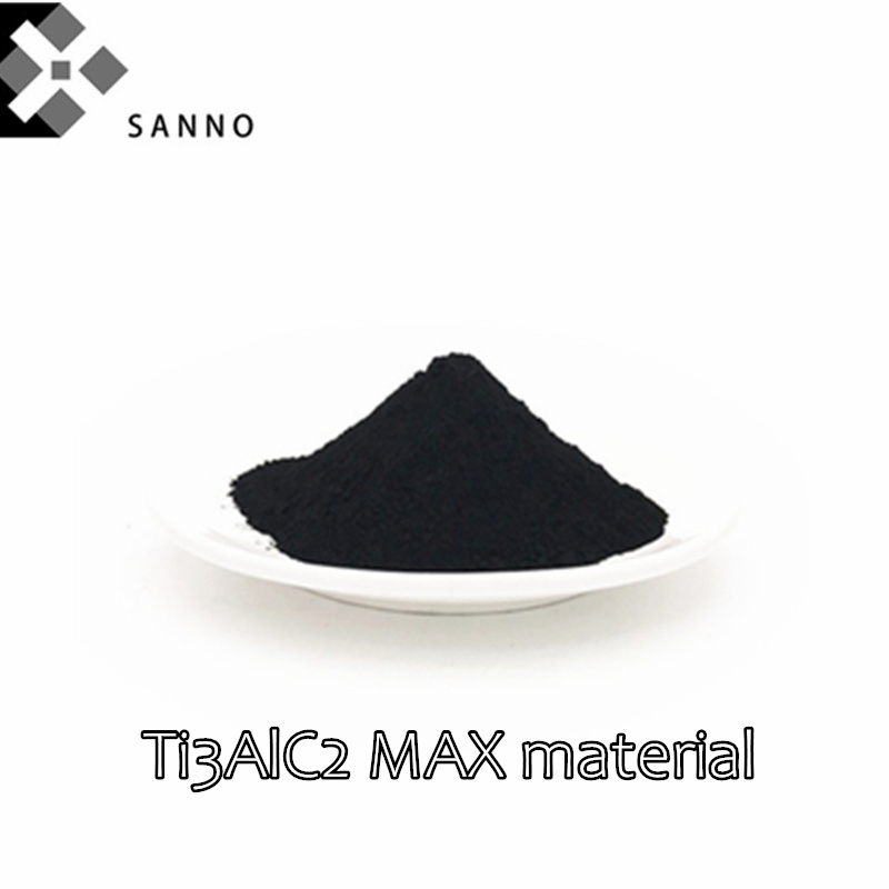 50g-100g 325Mesh / 400mesh Advanced Ceramic Series MXene Max Phase Ceramic Titanium Aluminum Carbide Powder Ti3AlC2 MAX Material