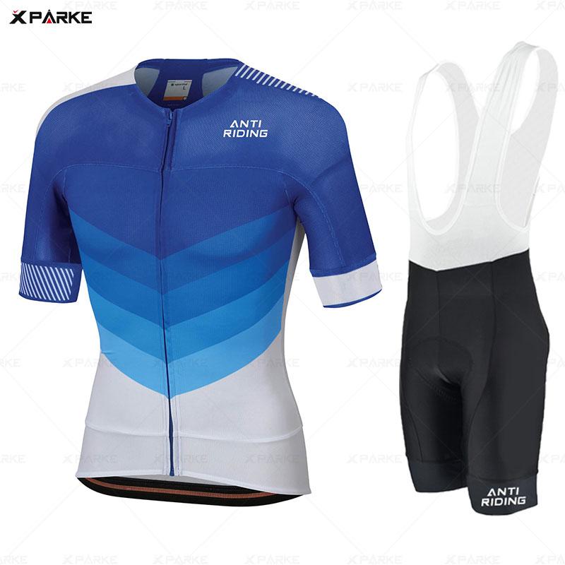 Mens Riding Bike Shorts Pro Team Bicycle Pants Half Sleeve Biking Tights Wear