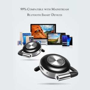 Image 5 - Air V5 TWS Drahtlose Kopfhörer Stereo Bluetooth 5,0 Kopfhörer Ohr Haken Noise Cancelling Bluetooth Headset Mit Mikrofon