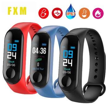 Color Smart Bracelet Bluetooth Man Woman Sport Watch Smart Band Blood Pressure Waterproof Heart Rate Fitness Wrist Band Watch original waterproof u8s sport u watch bluetooth smart wrist sports