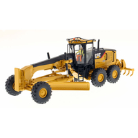 Diecast Masters #85189 1/50 Scale Caterpillar 14M Motor Grader Vehicle CAT Engineering Truck Model Cars Gift Toys