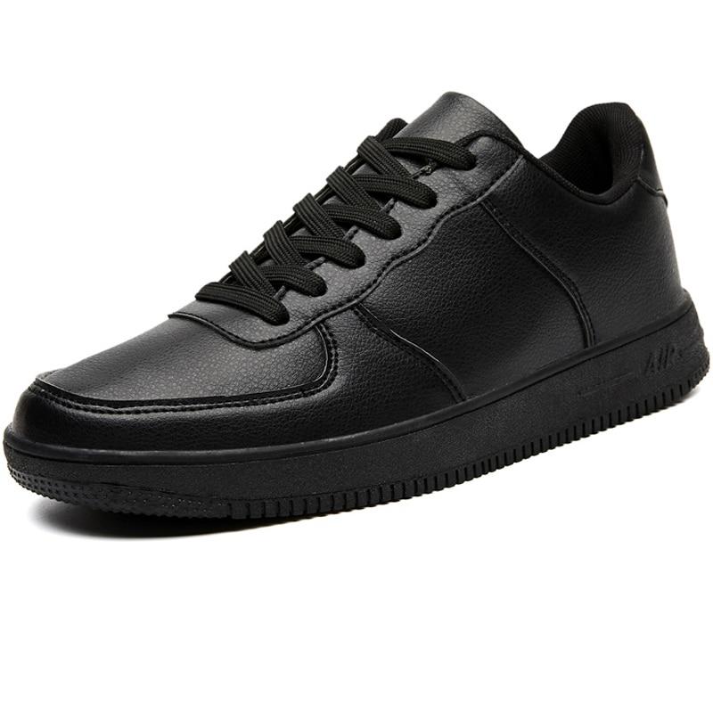 Brand Leather Men Casual Shoes Autumn Fashion Sneakers Footwear Rubber Warm Male Flats Shoe Winter Mens Shoes Sales Man Designer|Men's Casual Shoes| - AliExpress