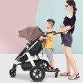 Детская коляска вспомогательный Педальный адаптер для второго ребенка  колесная доска  прицеп  детская коляска  съемная стоячая пластина  д...