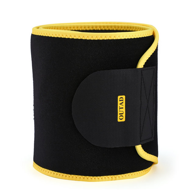 OUTAD Women Waist Trimmer Belt Neoprene Waist Sweat Band for Slimmer Water Weight Loss Mobile Sauna Belts Strengthen Tummy 5