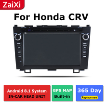 2 Din Android radio bluetooth GPS Navigation wifi Stereo video For Honda CRV CR-V 2006~2011 Car Multimedia Player hactivol 2 din car radio face plate frame for honda cr v crv 2006 2011 car dvd player gps navigation panel dash mount kit