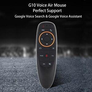 Image 5 - Kebidu G10s אוויר עכבר שליטה קולית עם ג יירו חישה מיני אלחוטי חכם מרחוק G10 2.4G USB מקלט עבור אנדרואיד טלוויזיה תיבה