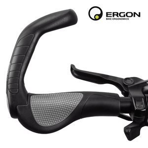 Image 2 - Flat MTB Grips Bike Lock on Bicycle Handlebar Grips with Extended Bar End Support Ergonomics Cycling Handlebar Covers Bike Grips