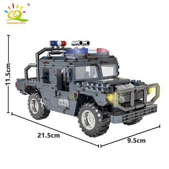 """Конструктор HUIQIBAO """"Военный грузовик"""", 544 шт. 3"""
