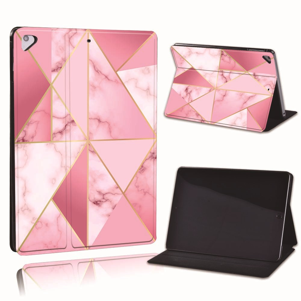 18.hot pink Champagne For Apple iPad 8 10 2 2020 8th 8 Generation A2428 A2429 Slim Printed Geometry PU