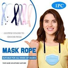 Cordão multicolorido da máscara do algodão do espaço da corda da máscara facial com corda elástica e elástica da máscara mascarillas mondkapjes mаки и