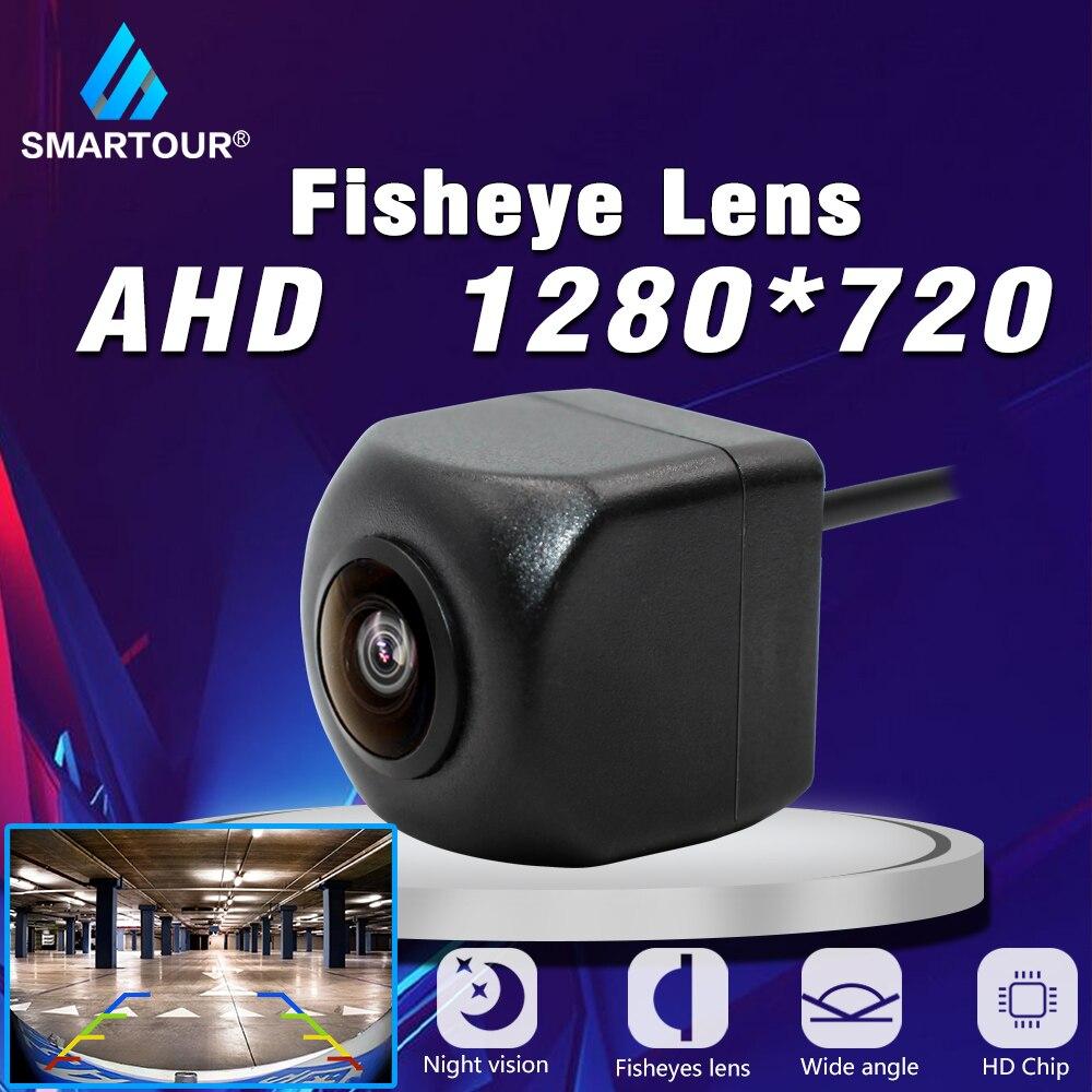 Smartour Car Rear View Camera Reverse Universal Fisheye Lens HD Night Vision 170 Degree Wide Angle Waterproof Backup Car Camera