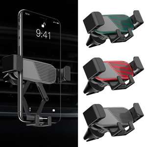 Image 5 - Bonola Telescopic Phone Car Holder Gravity Linkage Handy Car Phone Holder Small Mobile Phone Navigation Stand In The Car