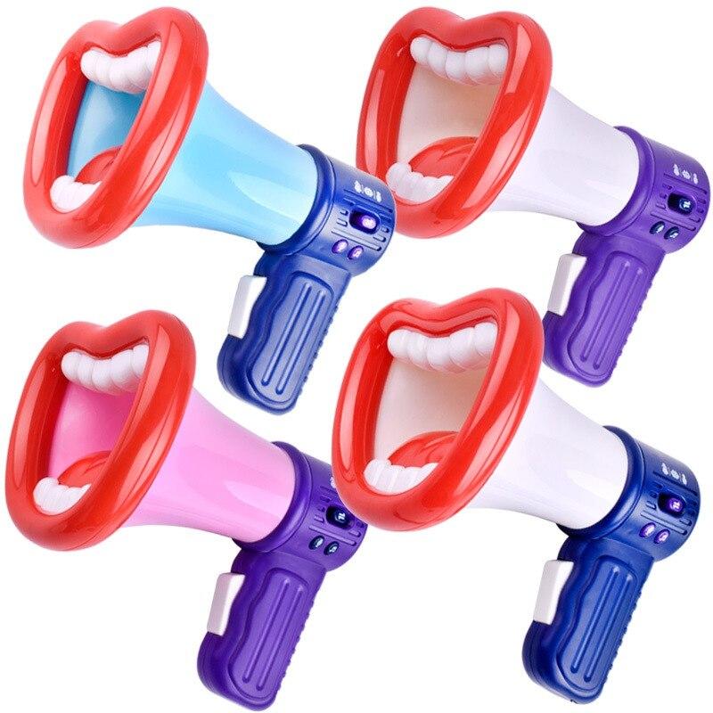 2019 enfants haut-parleur changeur de voix jouet enfants trompette enregistrement Microphone jouets voix changement haut-parleur/