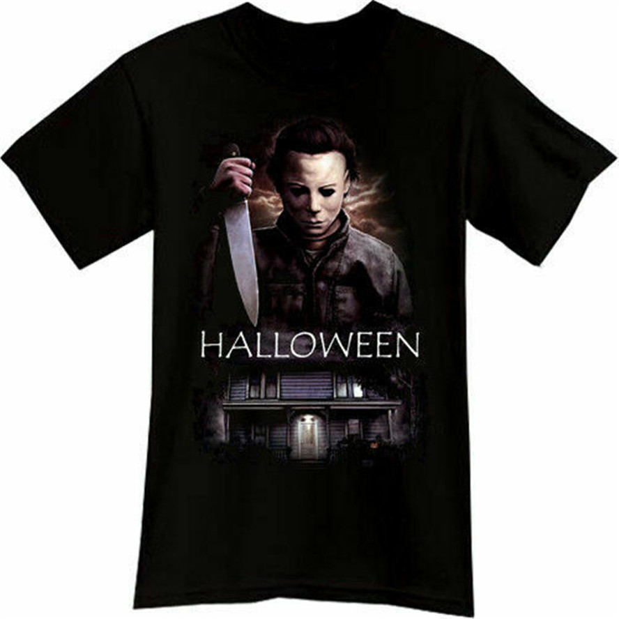 Michael Myers Halloween Horror Thriller Movie Black Tshirt Tee Sz M-3Xl Customize Tee Shirt image