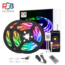 LED Streifen Licht, RGB 5050, Flexible Band, DIY Led Licht Streifen Telefon APP Bluetooth