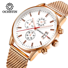 все цены на OCHSTIN Fashion Sport Style Quartz Watch Men Top Brand Luxury Famous Male Clock Wrist Watches for Men Date Relogio Masculino онлайн