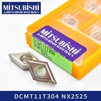 Mitsubishi DCMT11T304 NX2525 carbride inserts for lathe turning tool holder machine DCMT11T308 DCMT stainless steel boring bar