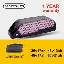 Ebike Electric-Bike-Battery-Pack BBSHD BBS02B Bafang BMS 18650 Downtub 13AH 21AH Cell