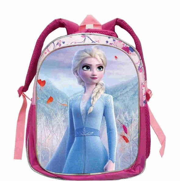 Disney frozen 2 personagem mochila escola das