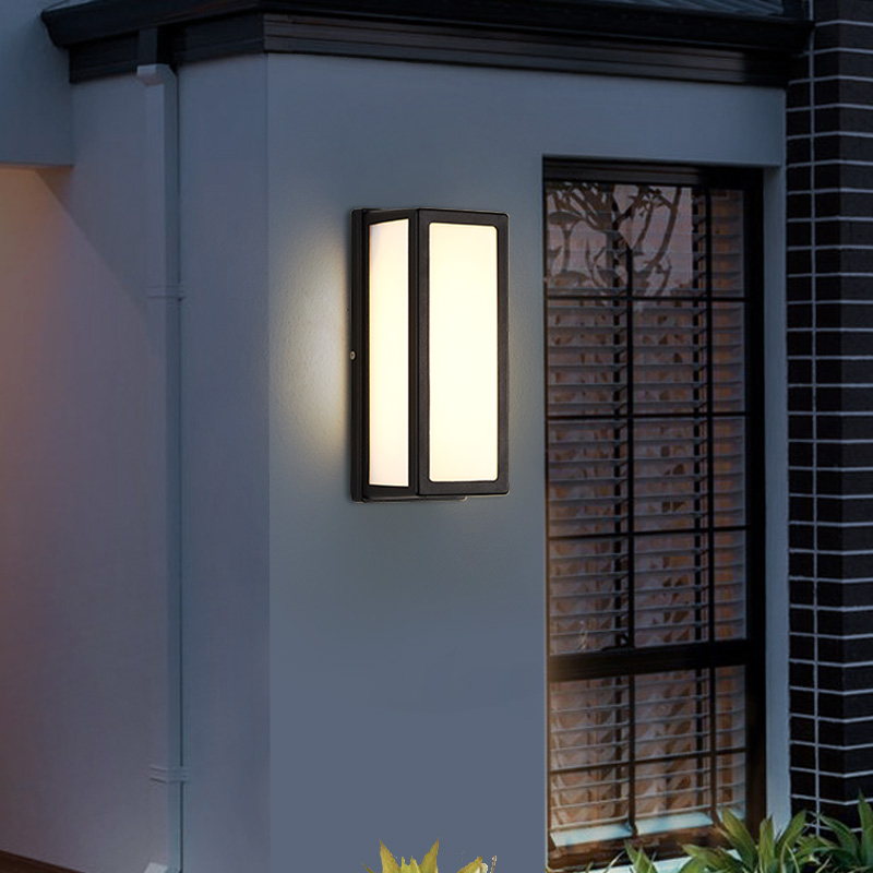 donwei ip54 18w luz conduzida da parede impermeavel ao ar livre varanda jardim lampada de parede