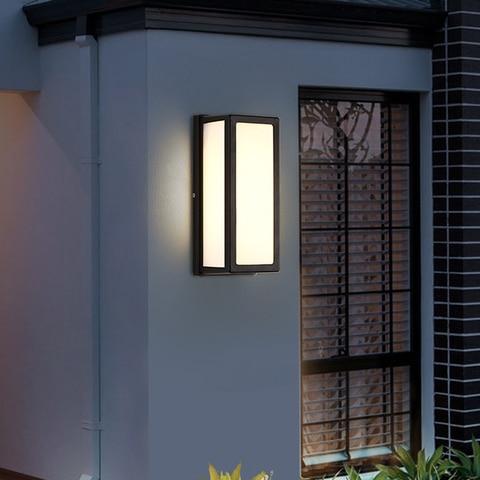 donwei ip54 18w luz conduzida da parede impermeavel ao ar livre varanda jardim lampada de