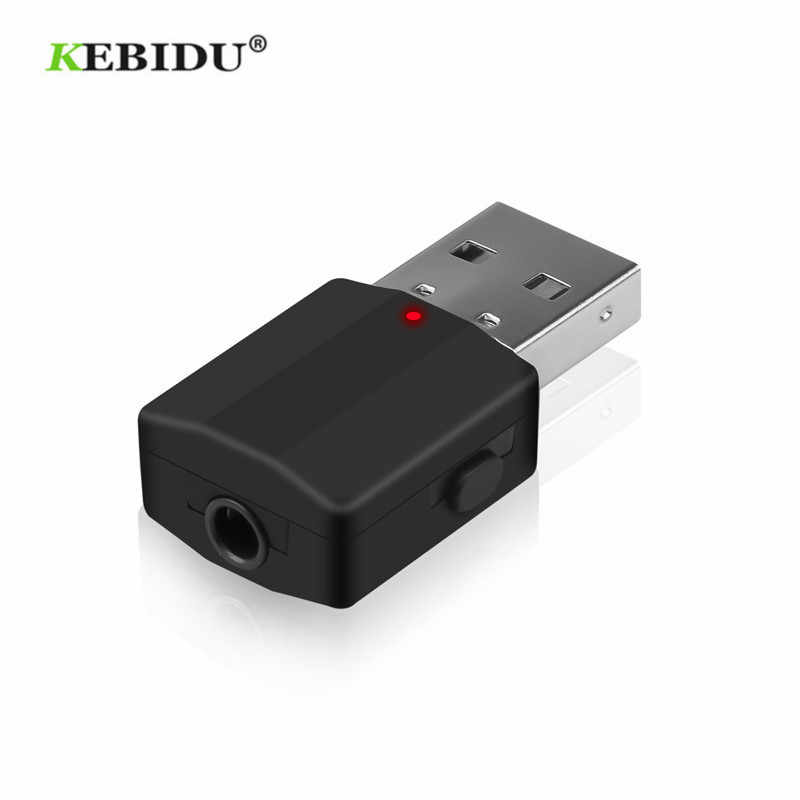 Kebidu Mini Bluetooth 5.0 Ontvanger Zender Stereo Bluetooth Aux Audio Rca Usb 3.5 Mm Jack Voor Tv Pc Auto Kit draadloze Adapter