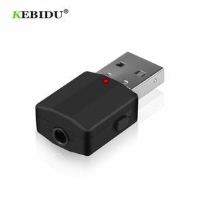 Image 2 - KEBIDU بلوتوث 5.0 استقبال الارسال ستيريو بلوتوث محول صغير 3.5 مللي متر AUX الصوت RCA ل TV PC سيارة عدة محول لاسلكي