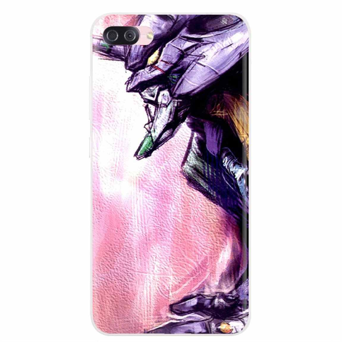 Evangelion יחידה אישית סיליקון טלפון מקרה עבור iPhone 11 פרו 4 4S 5 5S SE 5C 6 6S 7 8 X XR XS בתוספת מקסימום עבור iPod Touch