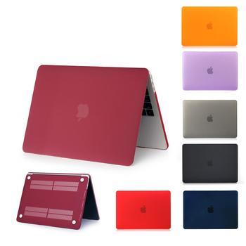 Novo caso fosco para apple macbook ar pro retina 11 12 13 15 16, para 2020 novo ar a1932 a2179 novo pro13 a2289 a2251