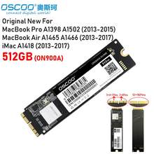 OSCOO חדש 512GB NVMe SSD עבור 2013 - 2017 Macbook Pro רשתית A1502 A1398 Macbook אוויר A1465 A1466 SSD iMac A1418 A1419 SSD(China)