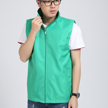 New men's and women's solid color vest casual sports couple models can be worn in all seasons