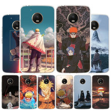 Uzumaki Naruto Phone Case For Motorola Moto G8 G7 G6 G5S G5 G4 E6 E5 E4 Plus Play Power One Action X4 Cover Coque(China)
