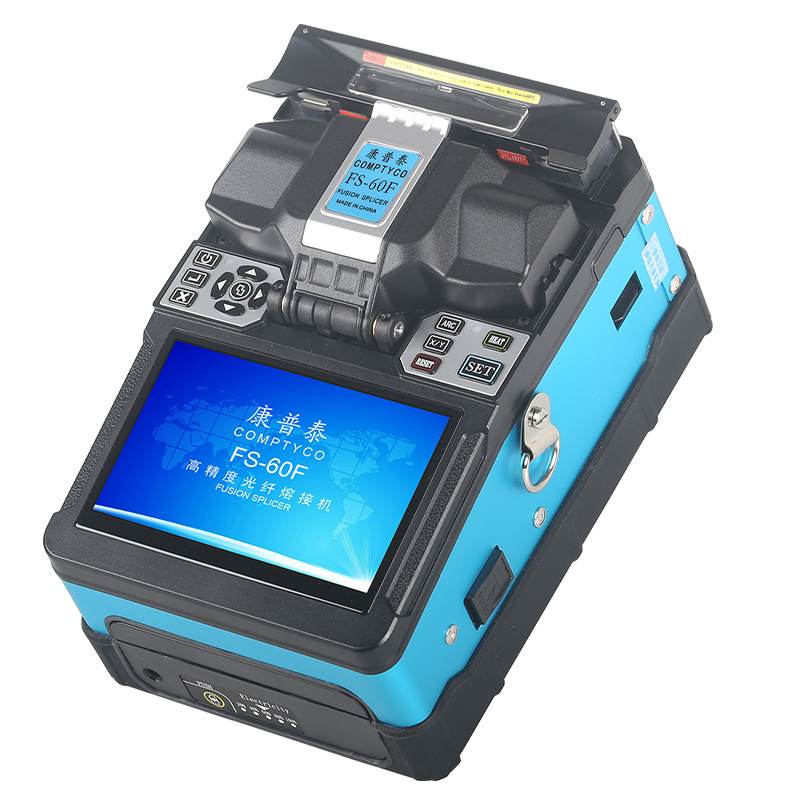 FS-60F Fully Automatic Fiber Optic Welding Splicing Machine Fiber Optic Fusion Splicer Fiber Optic Splicing Machine